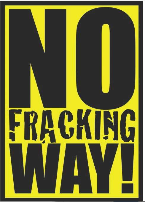 No Fracking Way