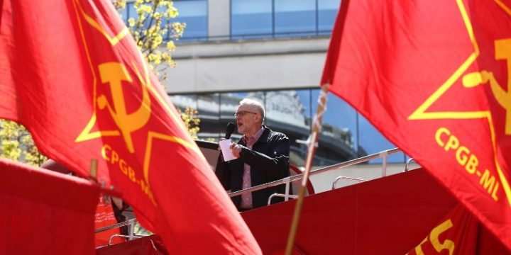 Communist Party of Britain will be 'campaigning for a Labour victory'