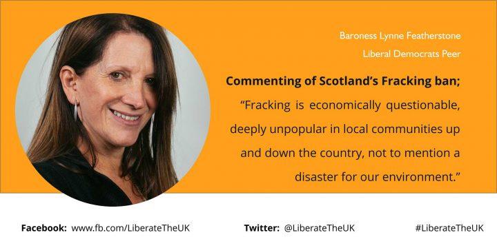 Scottish Fracking Ban