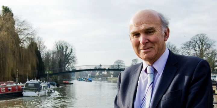 Vince Cable responds to UK debt crisis