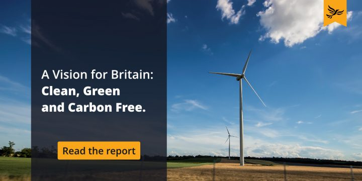 A Vision for Britain: Clean, Green and Carbon Free