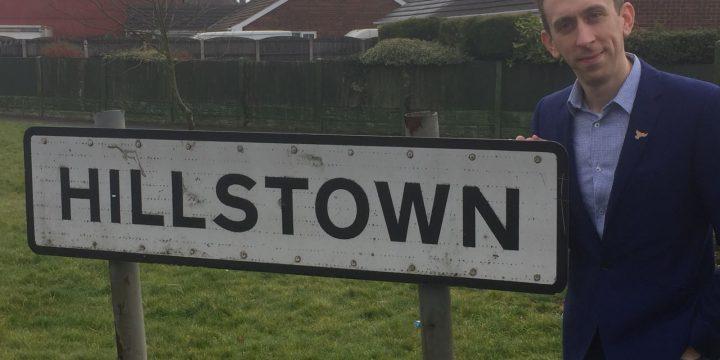 Steven Blakeley's letter to Hillstown