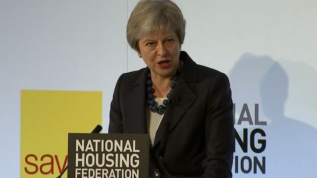 May is hypocritical on social housing