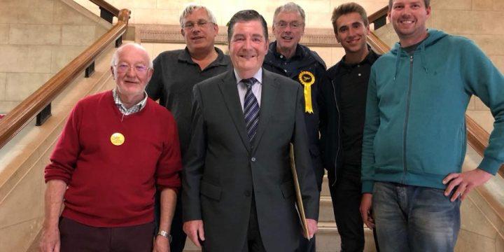 Veteran Lib Dem politician Tony Rogers elected to Chesterfield Borough Council