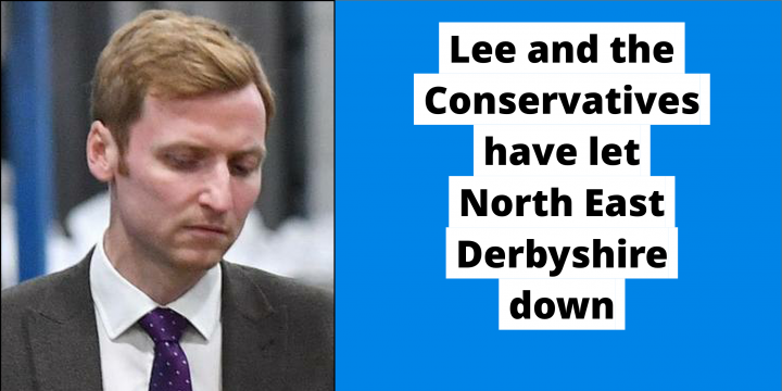 Lee Rowley's record in North East Derbyshire